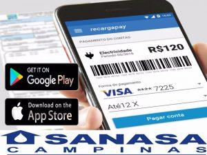 pagar contas Sanasa pelo telefone com Recargapay