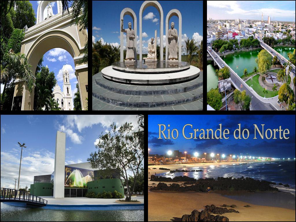 Locais de interesse cultural em o Estado Rio Grande do Norte em Brasil