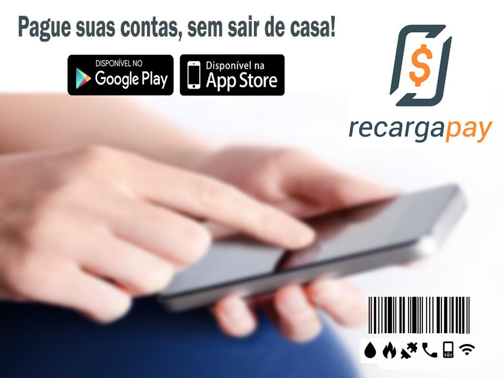 Pague suas contas, sem sair de casas pelo celular com RecargaPay