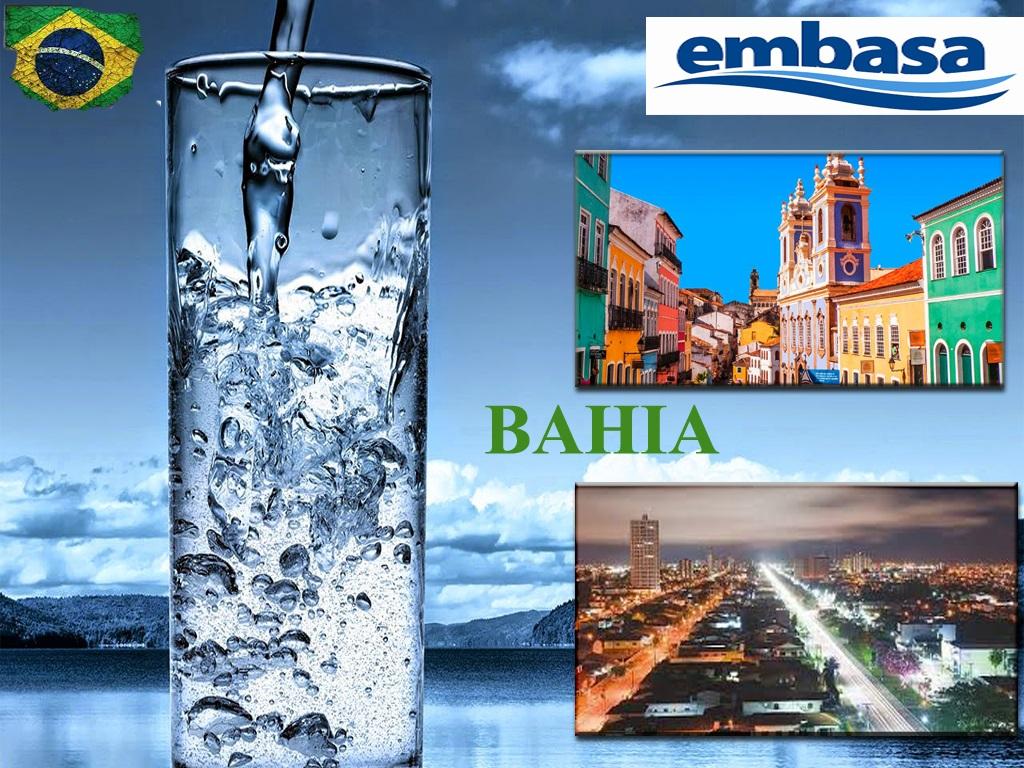 Companhia de serviços de água de Embasa em Salvador