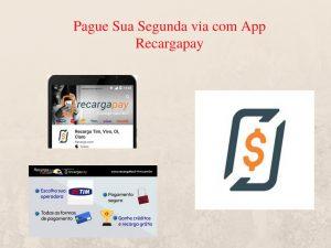 Pague sua segunda via Cagece com App Recargapay