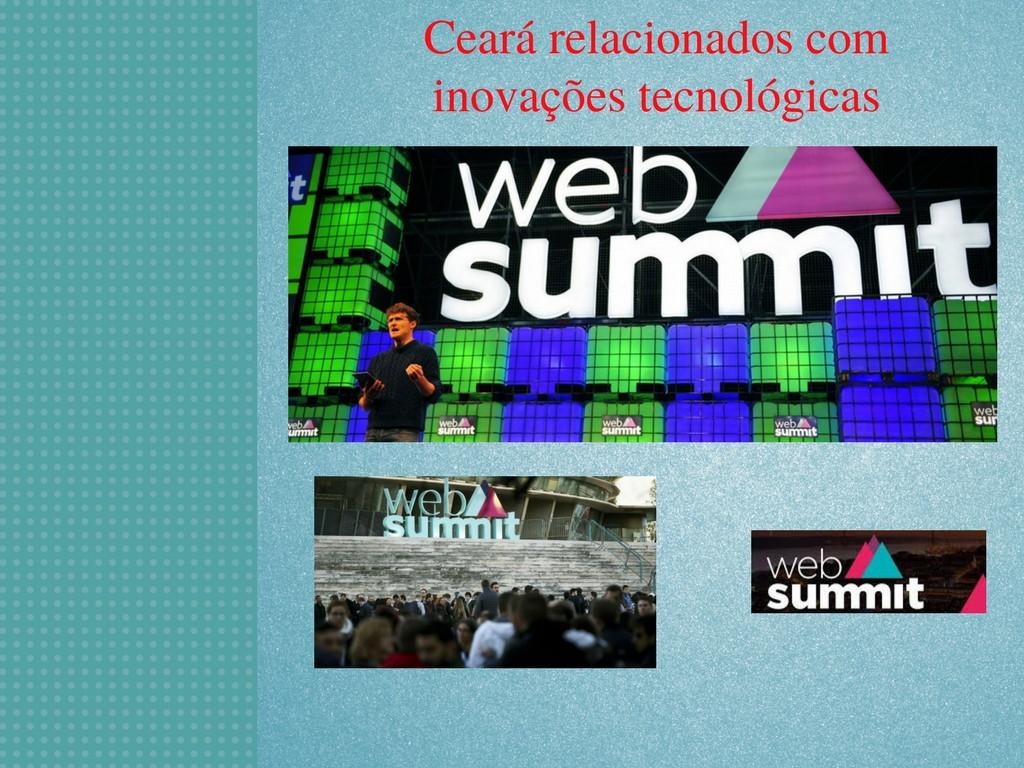 avanços tecnológicos na WebSummit