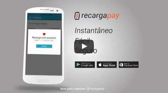 Recarregue crédito no seu celular com RecargaPay