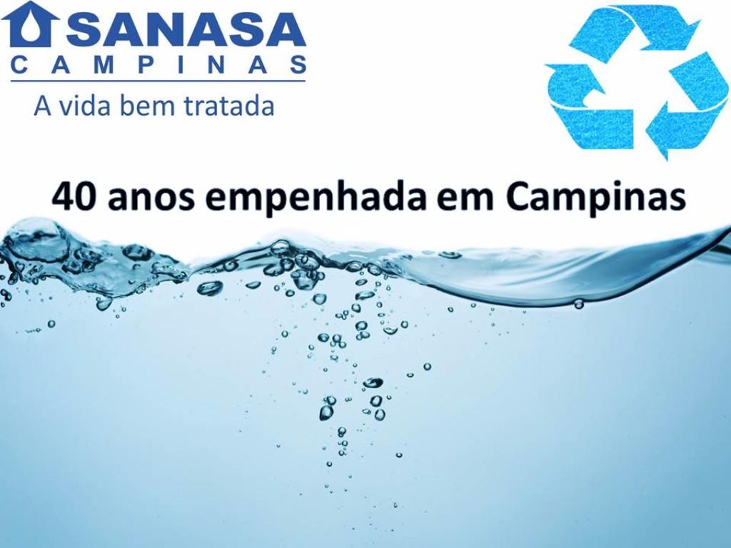 Contribua de SANASA à cidade de Campinas