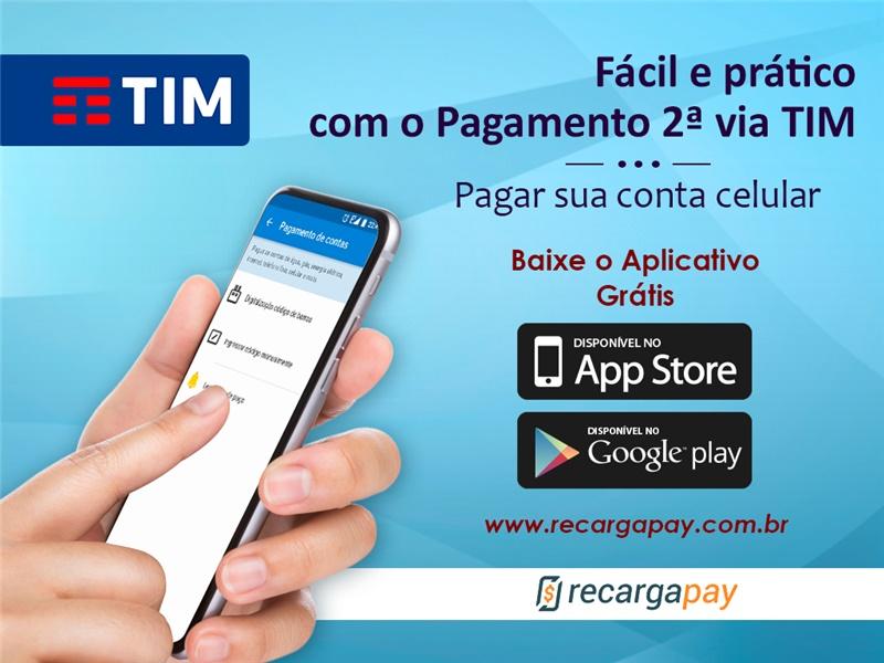 Pague sua conta 2da via pelo celular com App