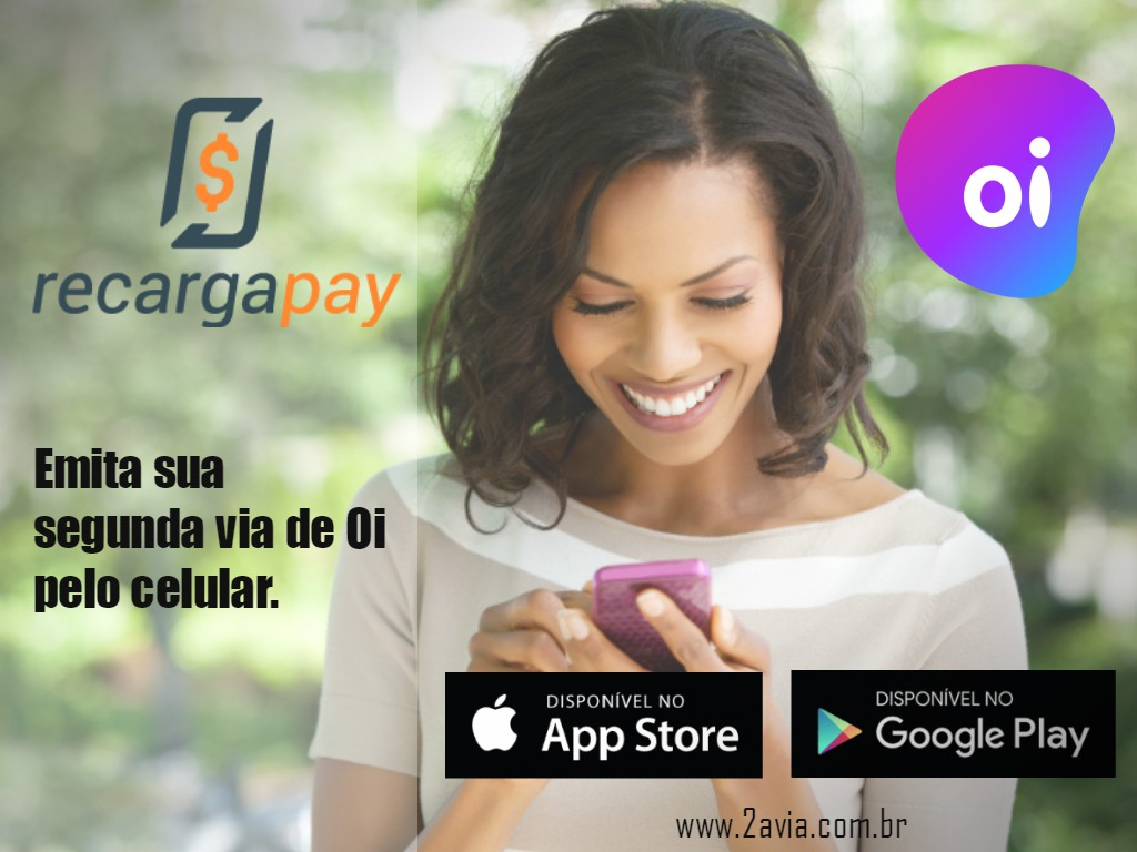 Emita e pague sua segunda via de telefone fixo Oi pelo celular em Rio