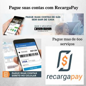Pague sua contas com RecargaPay