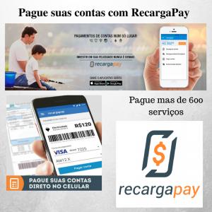 Pague suas contas com RecargaPay.