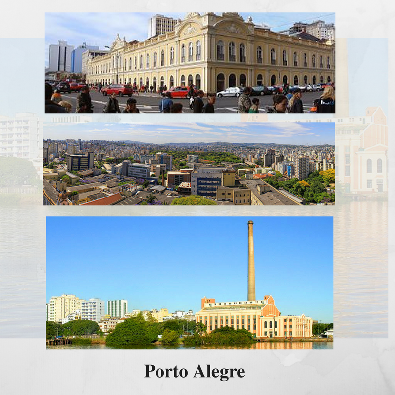 Porto Alegre, a cidade industrial e turística do sul