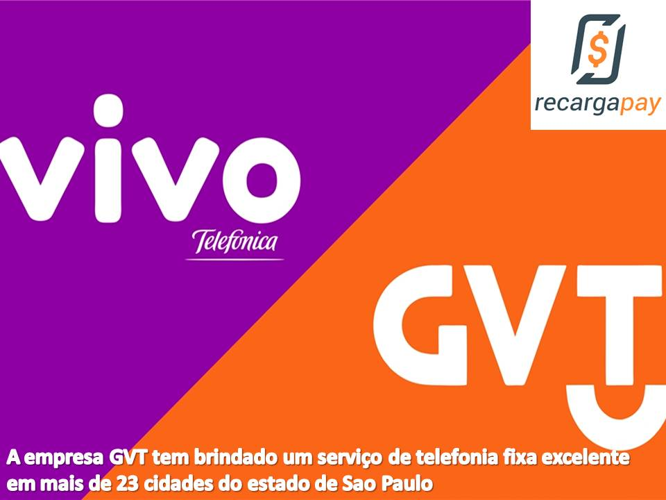Servicio de telefonia fija GVT que agora é Vivo em Sao Paulo