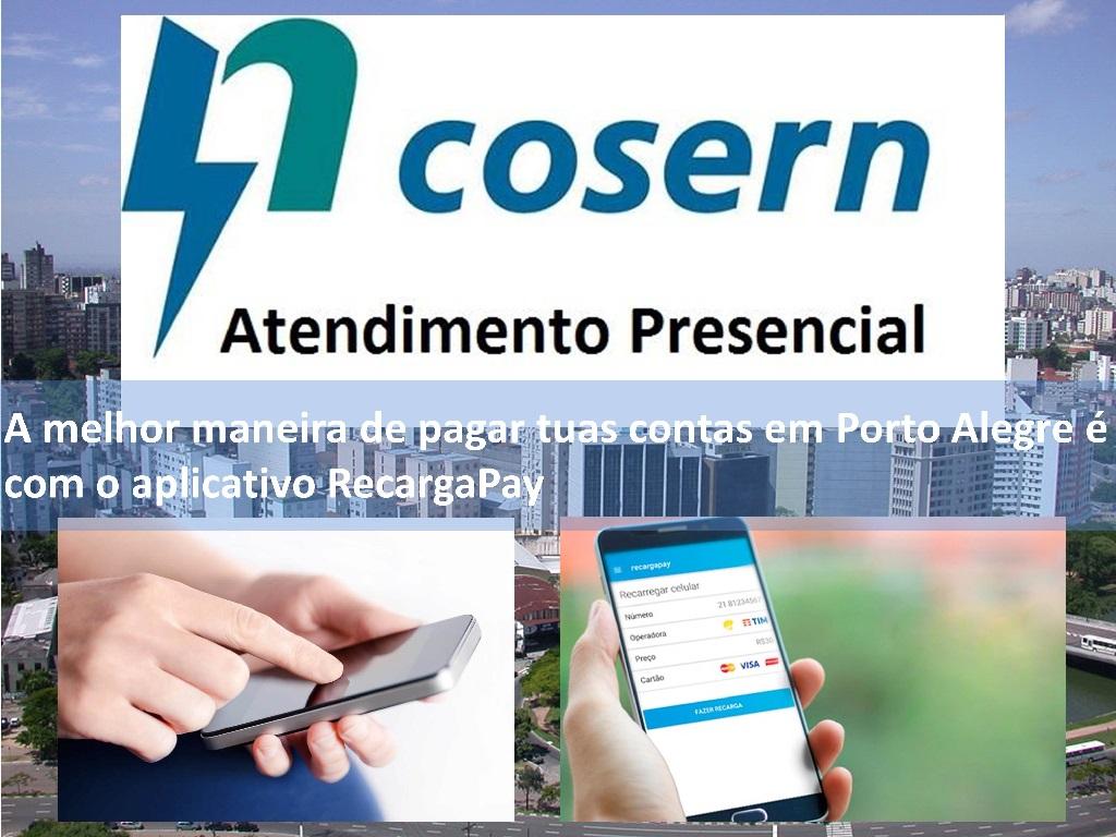 Em Porto Alegre Recargapay é a melhor opção para pagar tua conta de Cosern