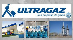Ultragaz, o mas grande revendedor de gás de brasil.