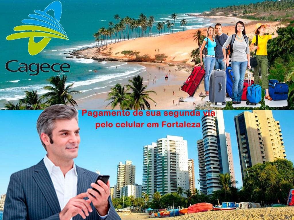 Pague sua segunda via pelo celular em a cidade turística de Fortaleza