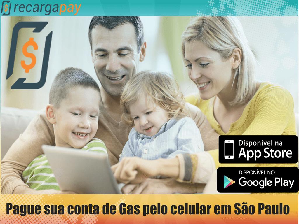 Pague sua segunda via de Gás Pelo celular em São Paulo