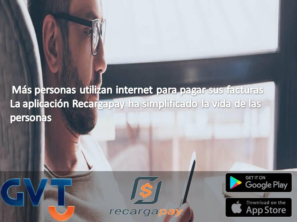 pagar contas de internet GVT en Sao Paulo pelo celular e de maneira on-line