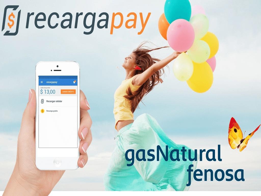 Paga tua segunda via de Gás Natural Fenosa direto desde teu celular