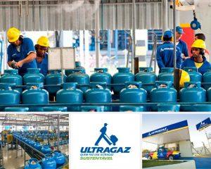 Ultragaz, o mas grande revendedor de gás de brasil