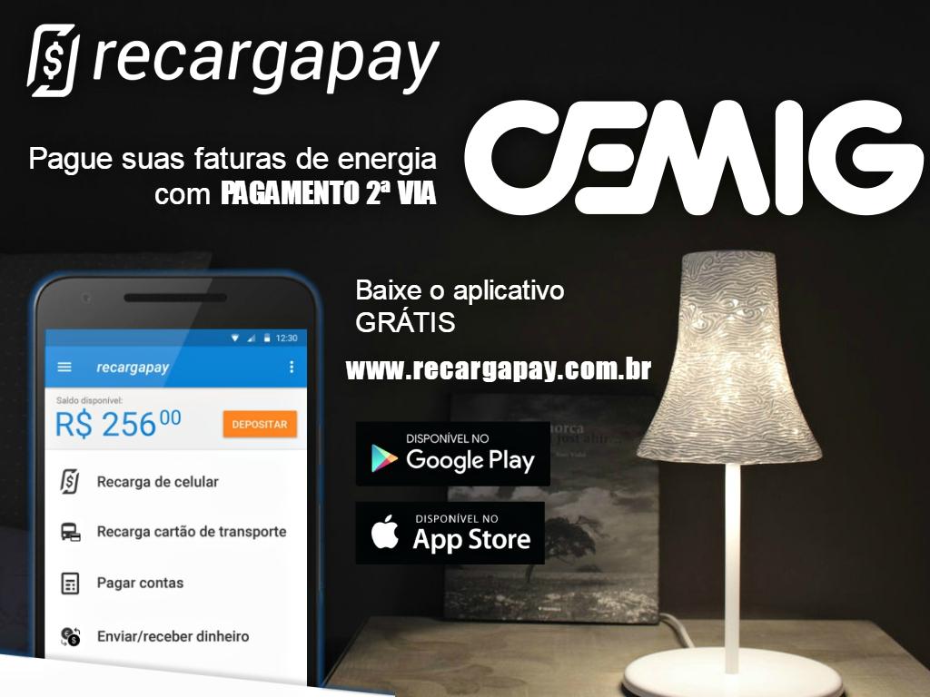 Baixe o aplicativo para fazer o pagamento por segunda via da sua conta de energia CEMIG