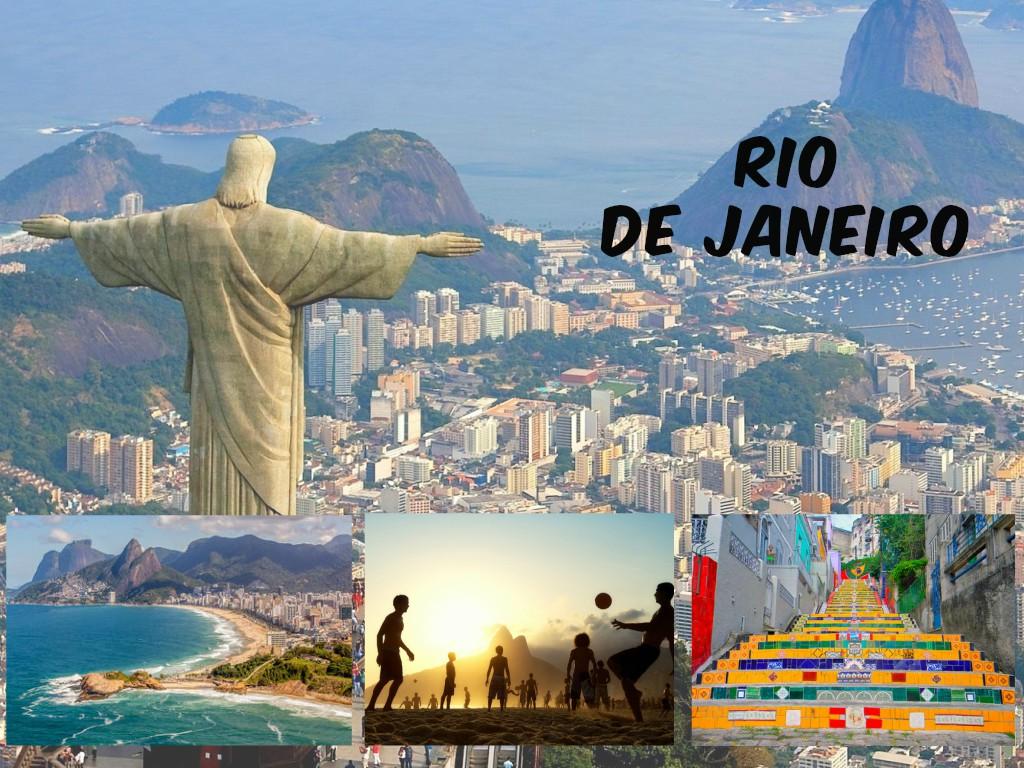 Rio de Janeiro a cidade mais famosas pelo seus praias e os monumentos