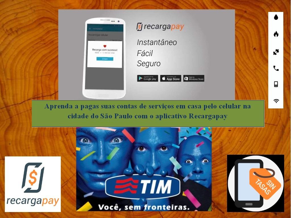 Aprenda a pagar suas contas de serviços de TIM pelo celular em São Paulo