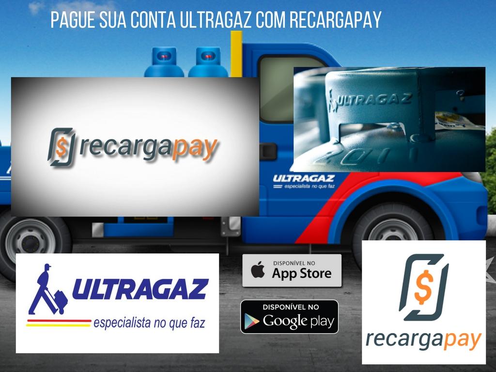 App para pagamento da 2da via da conta de gás Ultragaz