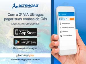 pagamento de contas de gás de Ultragaz pelo celular em Porto Alegre
