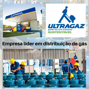 Líder em distribuição de gás em Sao Paulo