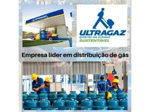Líder em distribuição de gás em Sao Paulo.