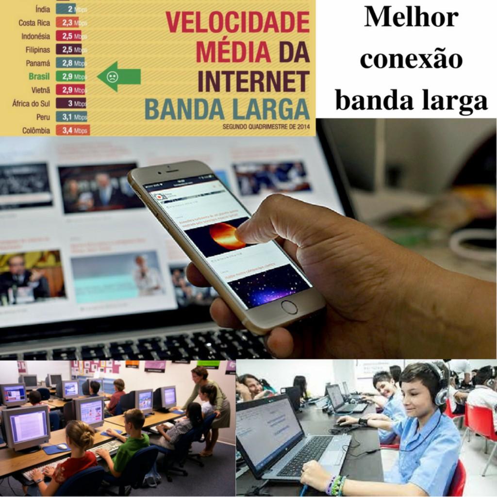 Melhor conexão comunicação entre Brasil e Europa