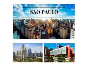 Sao Paulo, a grande metropoli de Brasil.