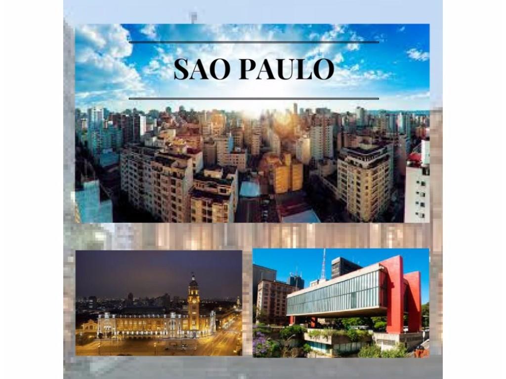 São Paulo a grande metrôpole e centro financeiro do pais