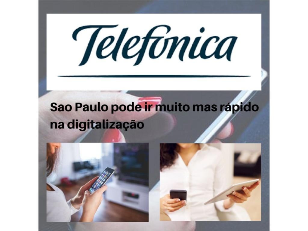 Sao Paulo pode ir muito mas rápido na digitalização das telecomunicaçoes