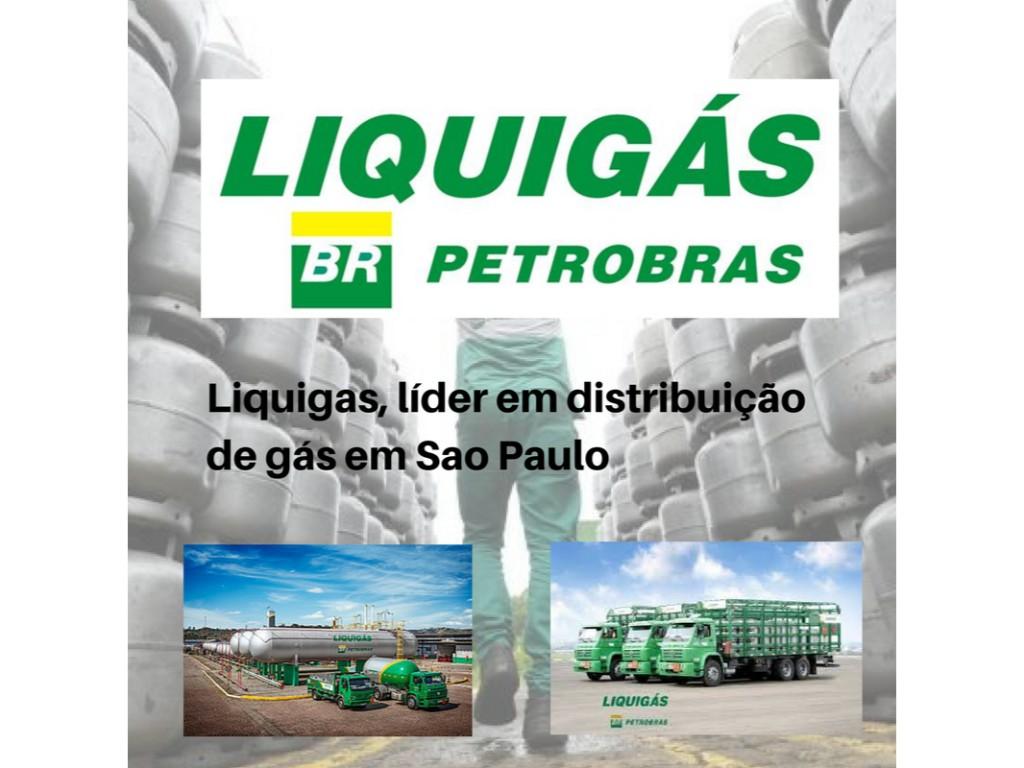 Liquigás a empresa líder em Sao Paulo na distribuição de gás