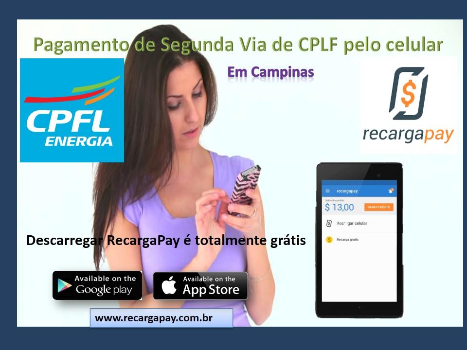 Faça seu pagamento da segunda via CPLF pelo celular com esta app