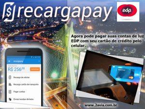 A inovação de pago de EDP com cartão de credito pelo celular em São Paulo