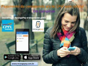 pagar segunda via de CPLF pelo celular com RecargaPay
