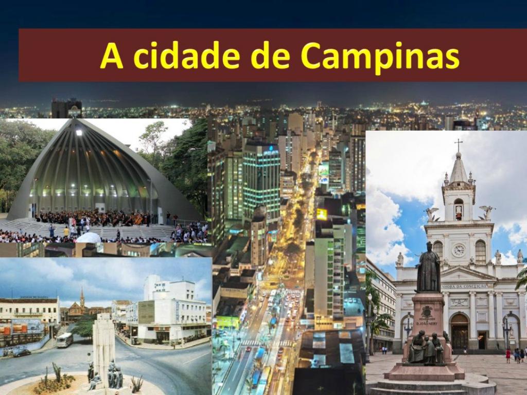 A cidade de campinas é a indicada para os turistas