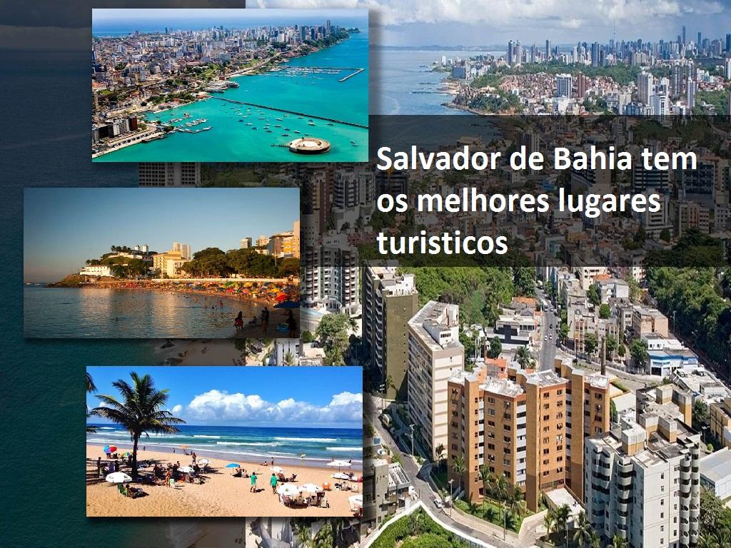 Em Salvador de Bahia encontrarás as melhores praias de Brasil