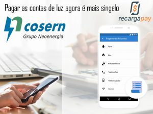 Pagamento online da conta de luz Cosern