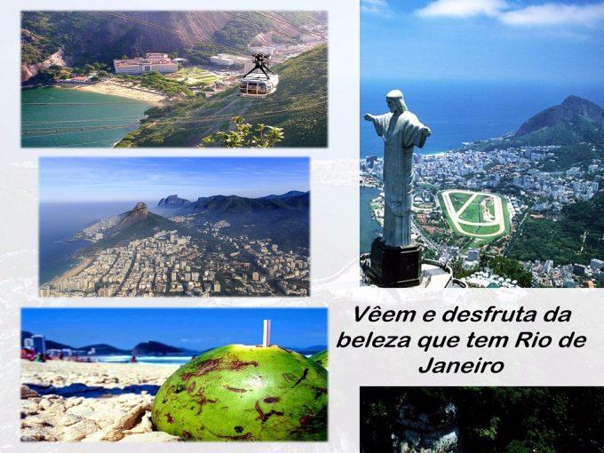 Os grandiosos lugares de Rio de Janeiro