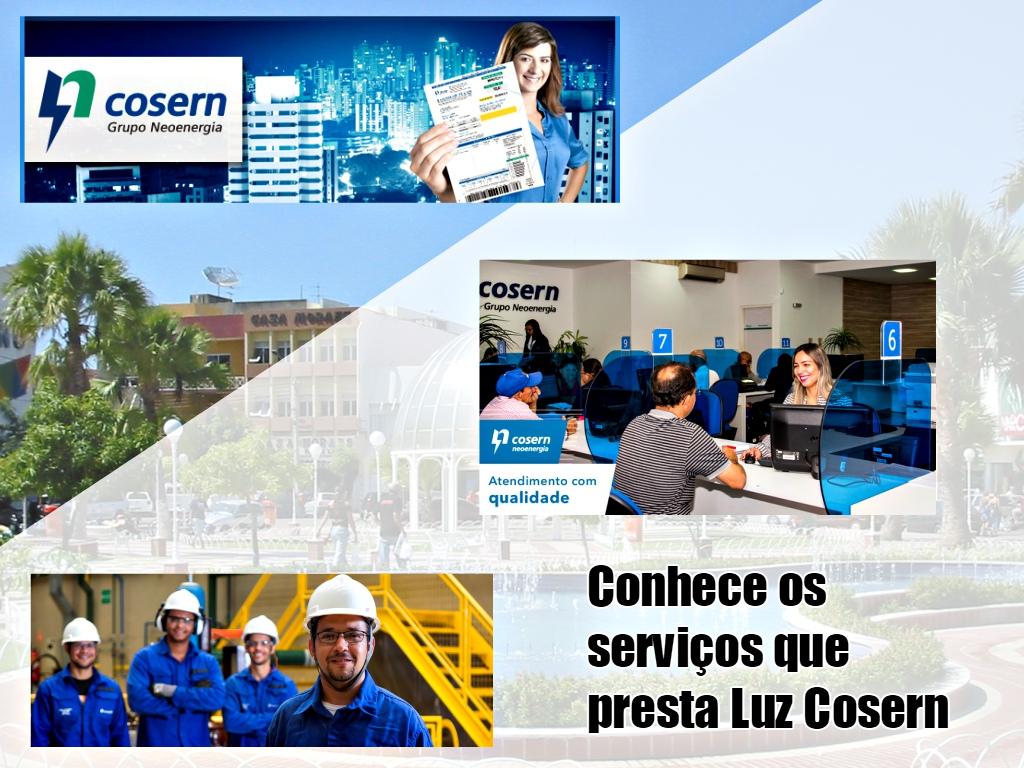 Conheça os serviços de Luz Cosern