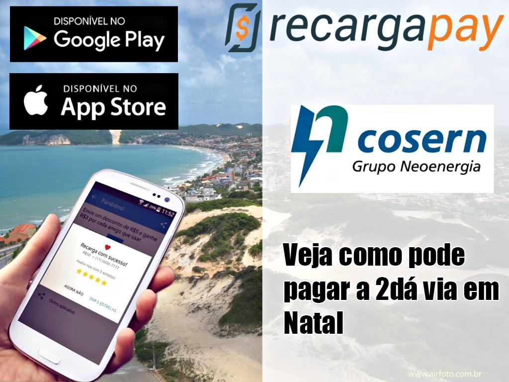 App para pagar a conta de luz Cosern