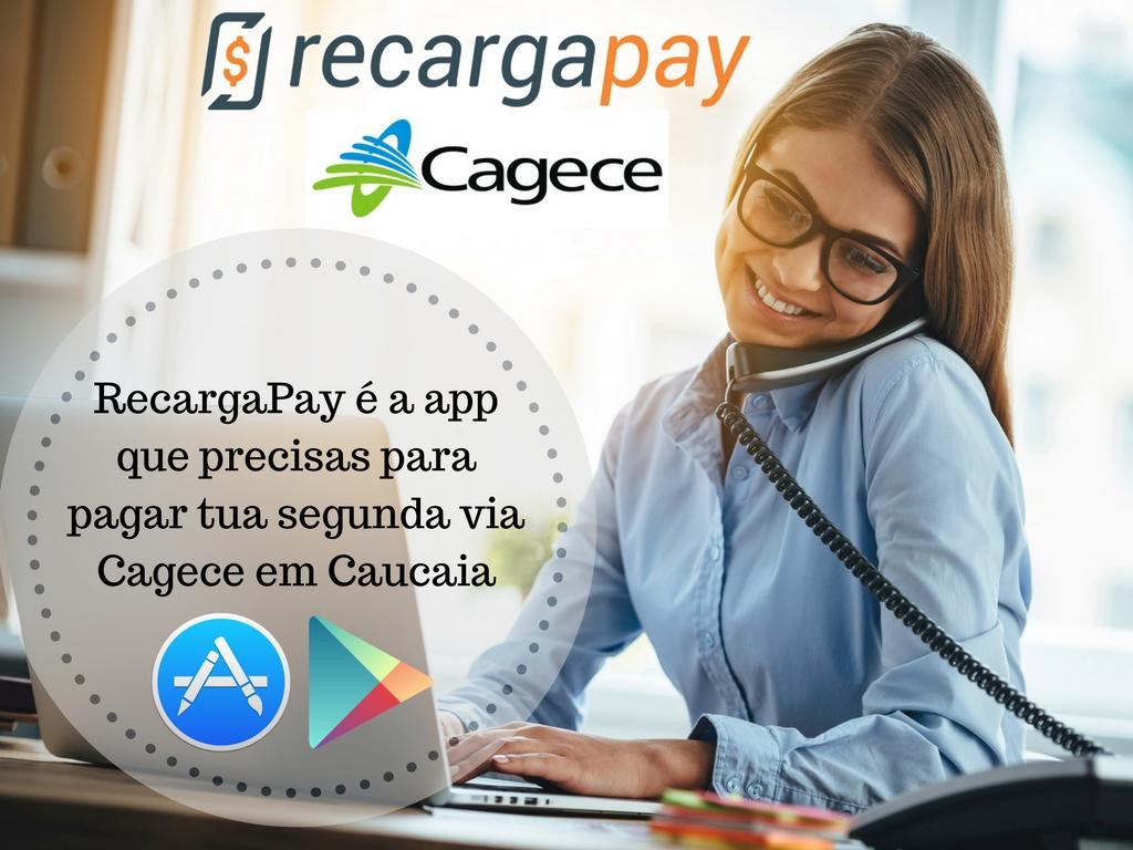 Segunda Via Cagece por RecargaPay em Caucaia