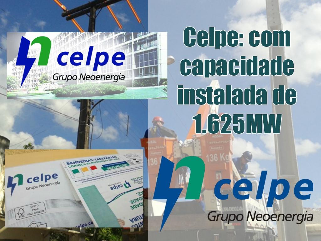 Celpe: com capacidade instalada de 1625 mw