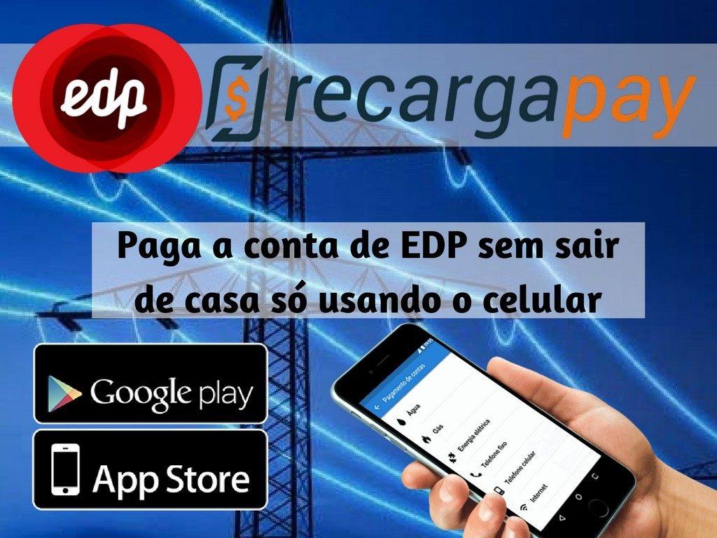 Paga conta EDP com Recargapay em SP
