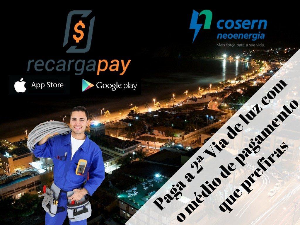 Paga Luz Cosern em RN com Recargapay