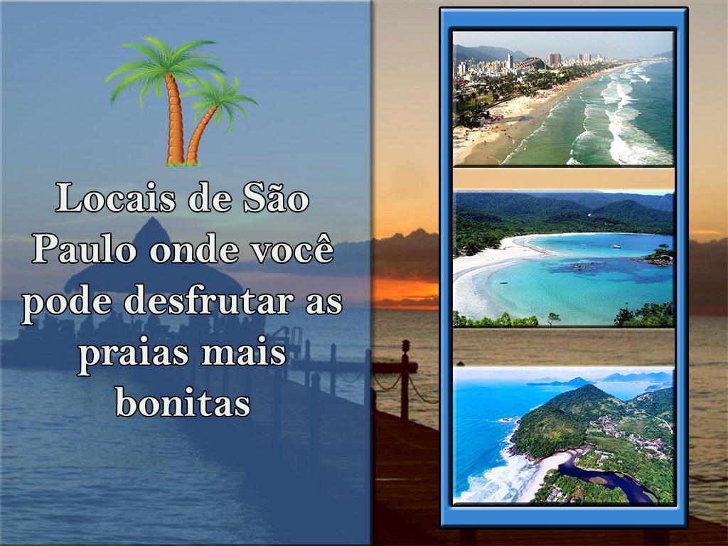 Locais de São Paulo onde você pode desfrutar as praias mais bonitas