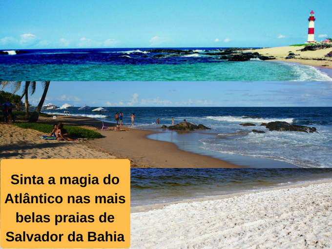 As mais belas praias de Salvador da Bahia