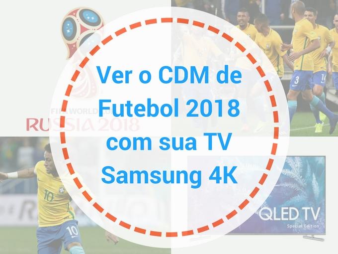 Sintonize à Copa do Mundo de Futebol com a Samsung