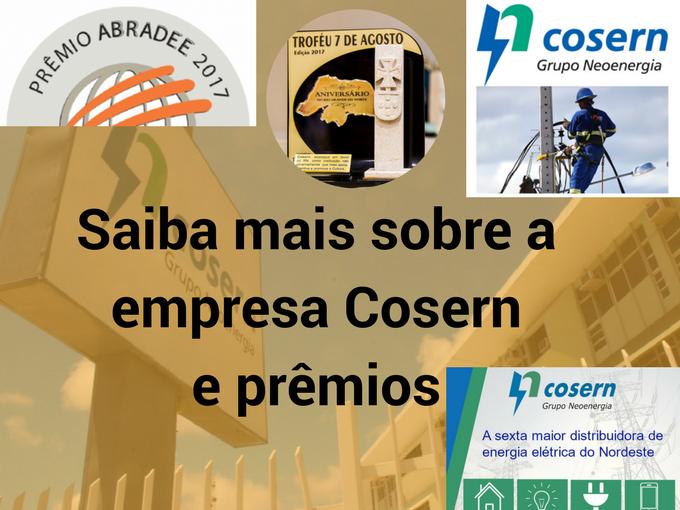 Saiba mais sobre a empresa Cosern
